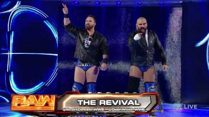 The Revival debuts on Raw after WrestleMania 33