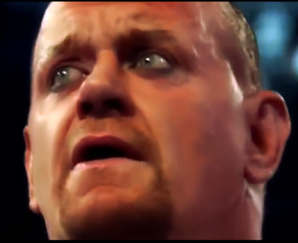 The Undertaker gets emotional at WrestleMania 29