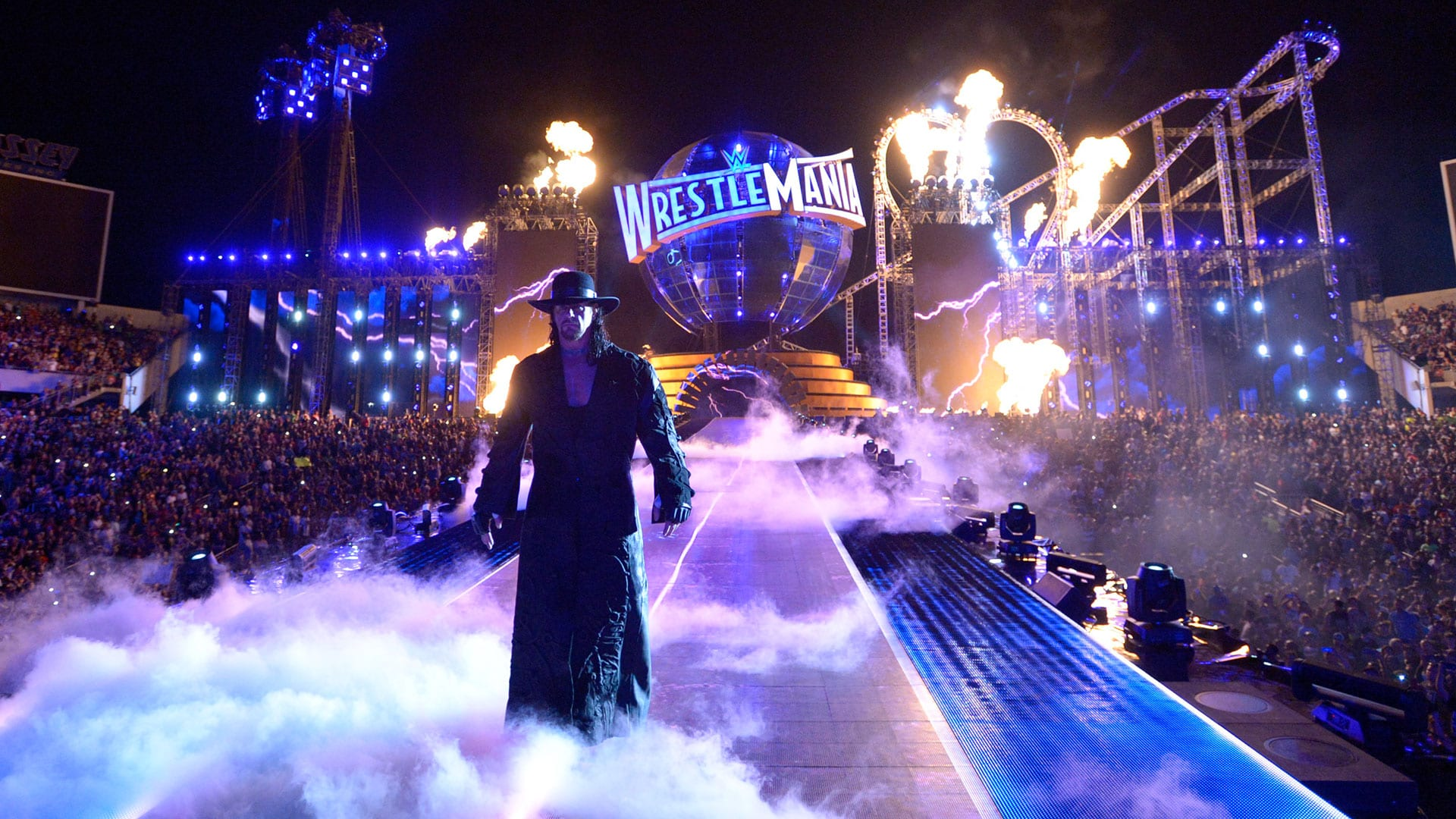 The Undertaker WrestleMania 33 Entrance