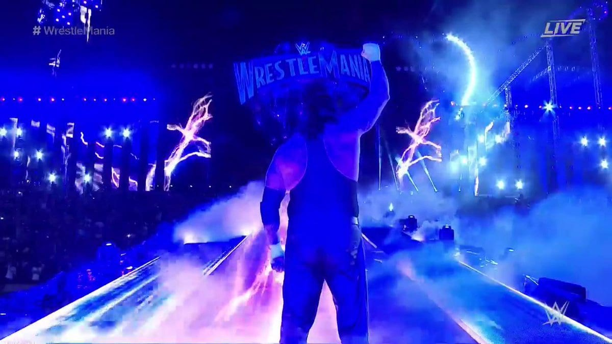 The Undertaker retires from Pro Wrestling at WrestleMania 33