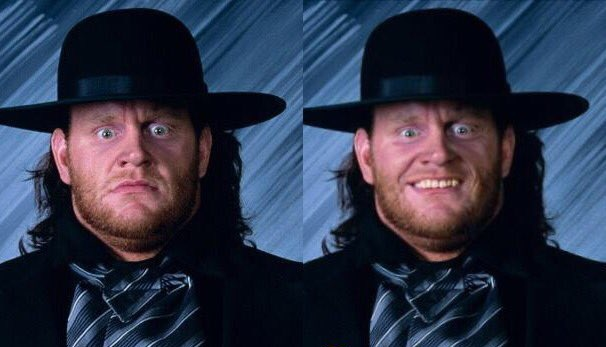 The Undertaker smiling pic - 1