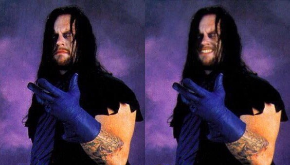 The Undertaker smiling pic - 2