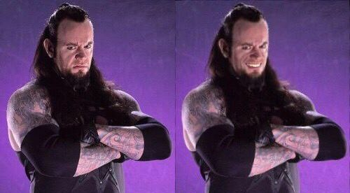 The Undertaker smiling pic - 3