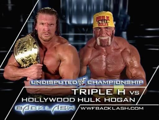 Triple H vs. Hollywood Hulk Hogan - Backlash 2002 (WWF Undisputed Championship Match)