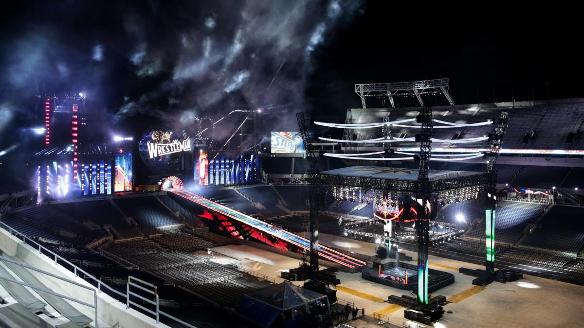 WrestleMania 33 Longest Ramp in WWE History