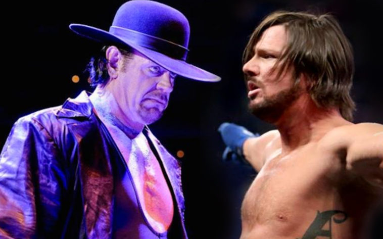 AJ Styles & The Undertaker