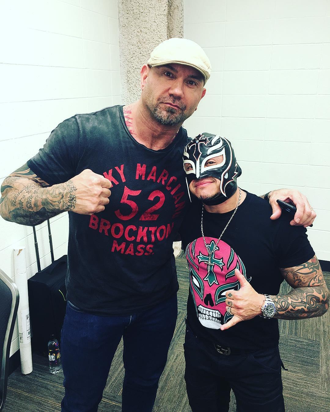 Batista & Rey Mysterio reunite 2017