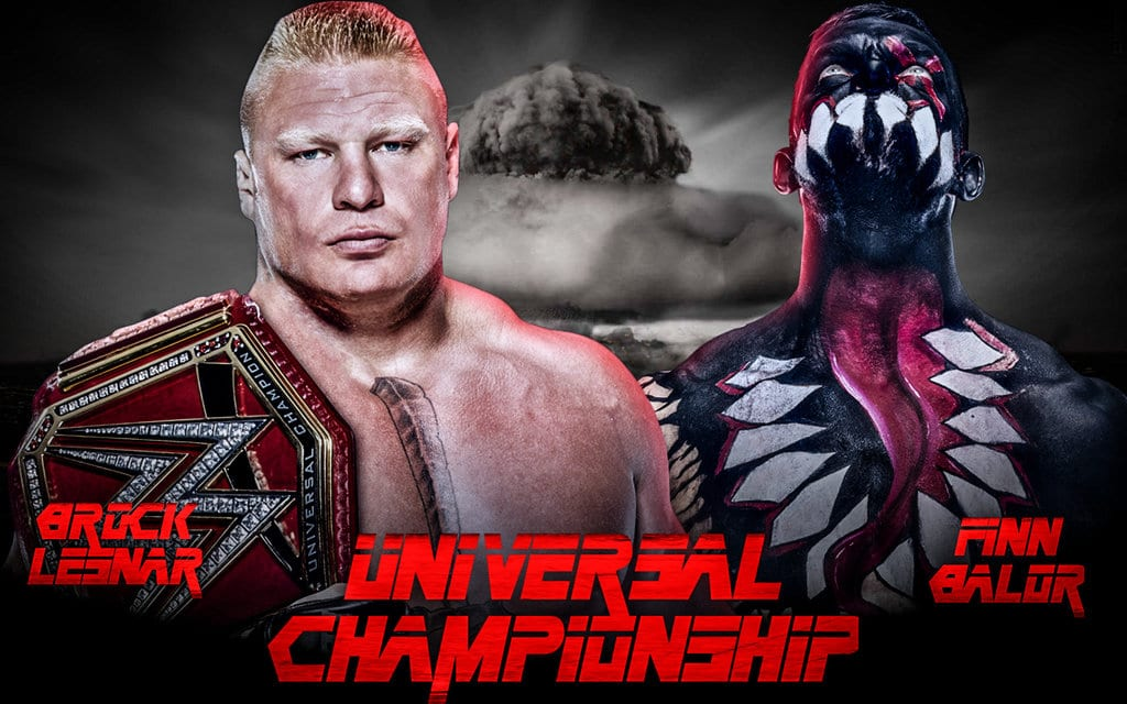 Brock Lesnar vs. Finn Balor