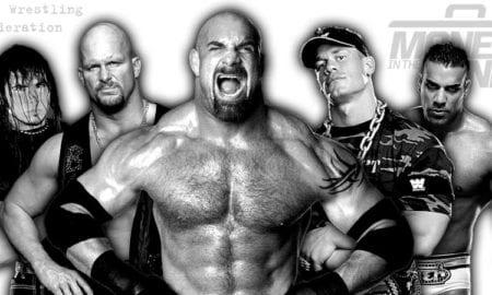 Goldberg, Stone Cold, John Cena, Jinder Mahal, BROKEN Matt Hardy