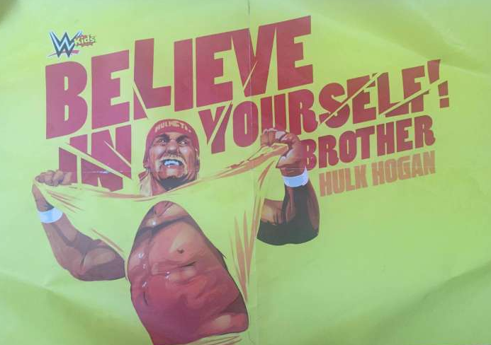 Hulk Hogan featured on the poster of a WWE kids magazine - Possibly returning to WWE 2017