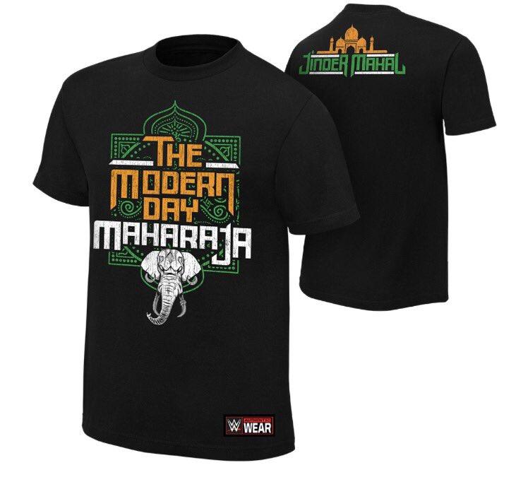 Jinder Mahal - The Modern Day Maharaja T-Shirt