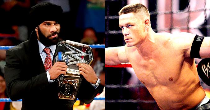 Jinder Mahal vs. John Cena