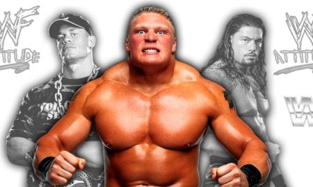 John Cena, Brock Lesnar, Roman Reigns