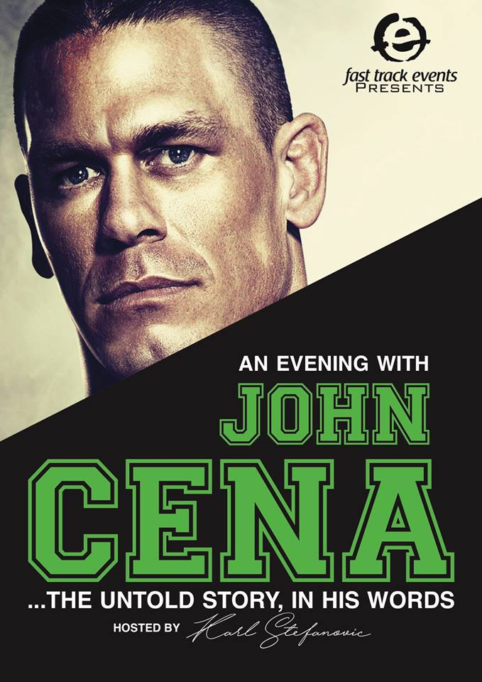 John Cena announces One Man Show In Australia for July 2017