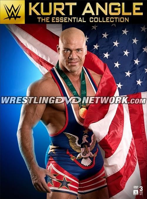 Kurt Angle - The Essential Collection DVD Poster