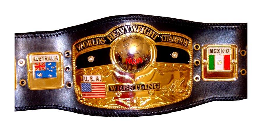 NWA World Heavyweight Championship - NWA - National Wrestling Alliance - Champion - Belt - Title