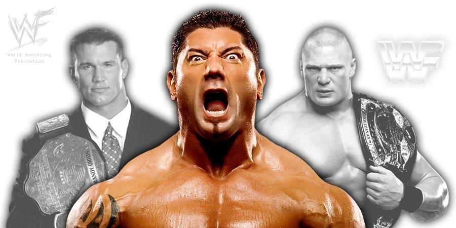 Randy Orton, Batista, Brock Lesnar