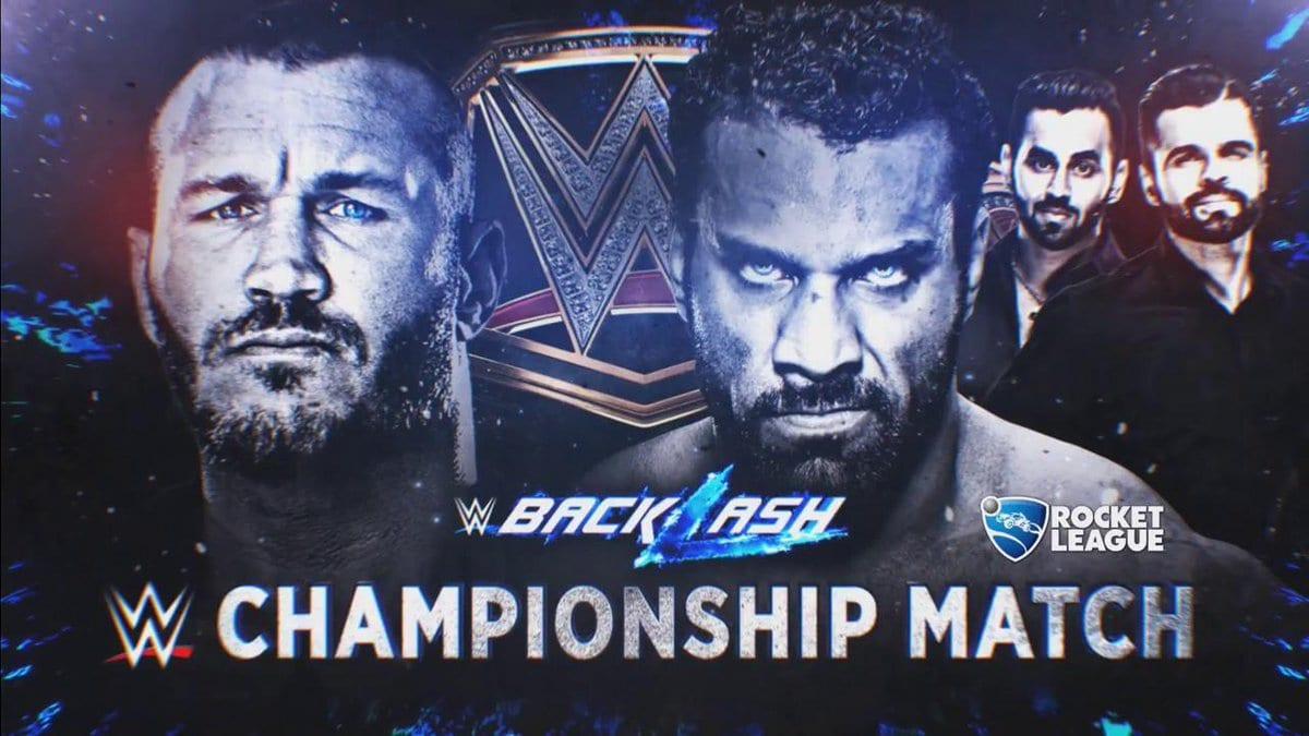 Randy Orton vs. Jinder Mahal - WWE Championship Match At Backlash 2017