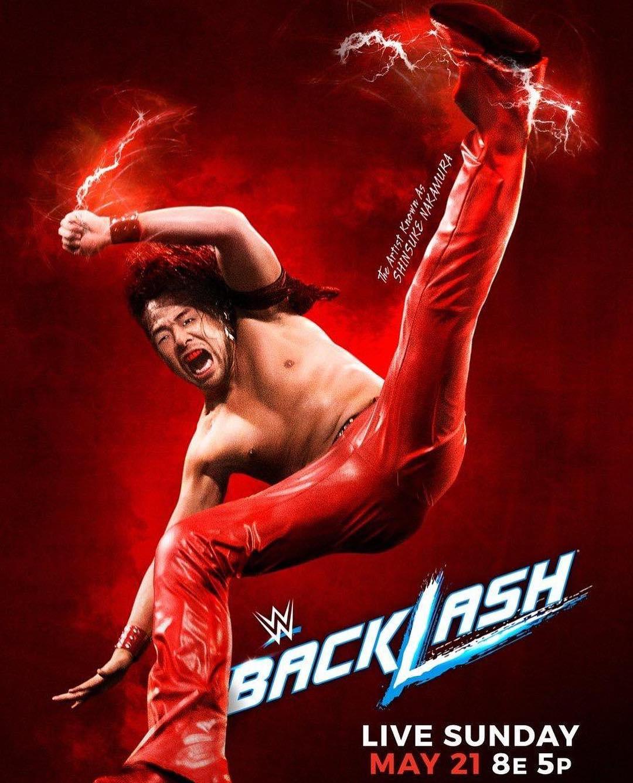 Shinsuke Nakamura Backlash 2017 Poster