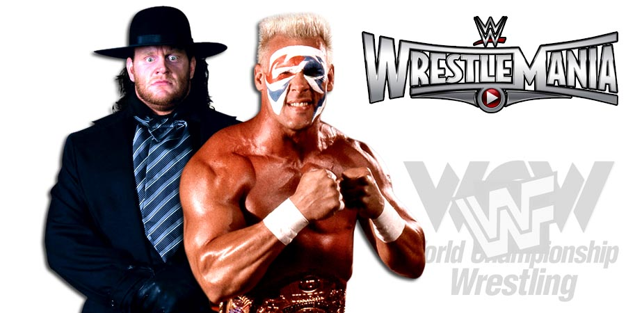 Sting Reveals The Biggest Regret Of His WWE Career - Sting Regrets Not Facing The Undertaker At WrestleMania