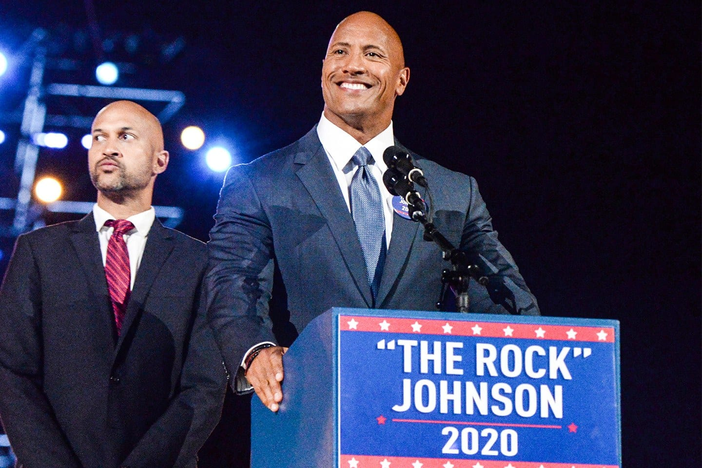 The Rock running for the President of USA in 2020?
