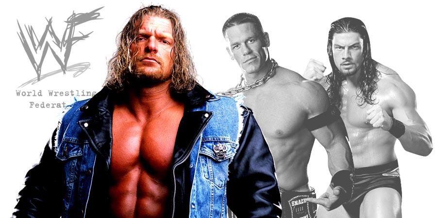 Triple H SummerSlam 2017, John Cena vs. Roman Reigns
