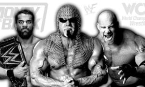 WWE Champion Jinder Mahal, Goldberg, Scott Steiner