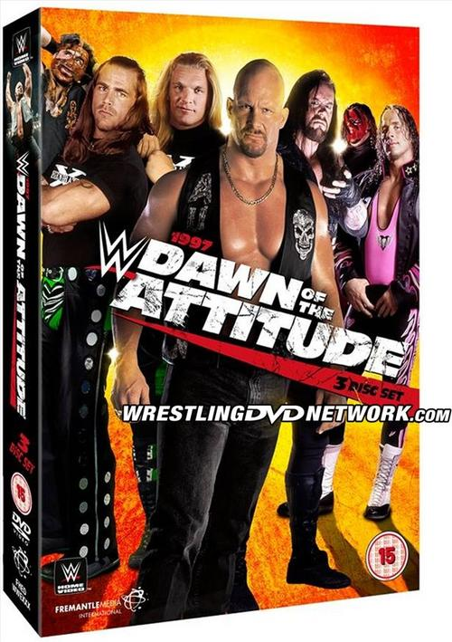 1997 Dawn Of Attitude DVD And Blu-ray Set Cover Photo