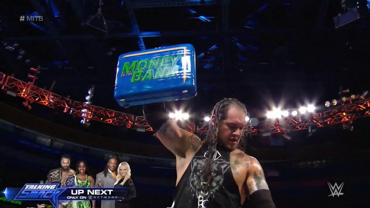 Baron Corbin becomes Mr. Money In The Bank at Money In The Bank 2017