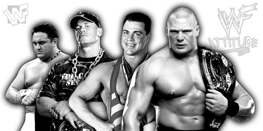 Brock Lesnar vs. Samoa Joe Outcome, John Cena, Kurt Angle