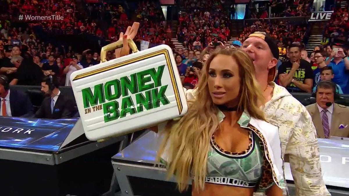 Carmella teases a Money in the Bank contract cash-in at Money In The Bank 2017 PPV