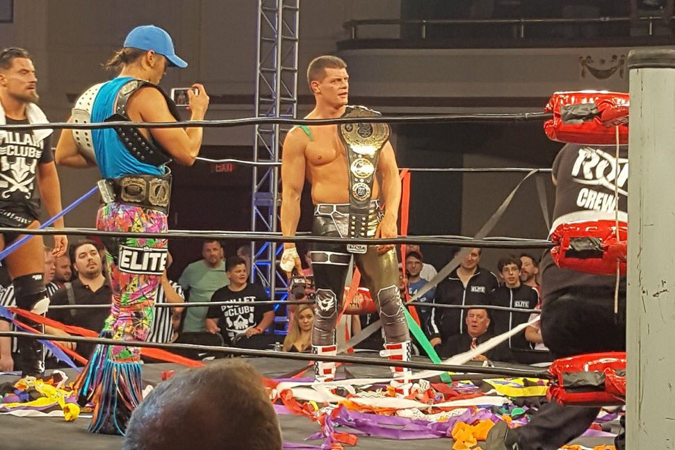 Cody Rhodes wins ROH World Championship at ROH Best In The World 2017 PPV