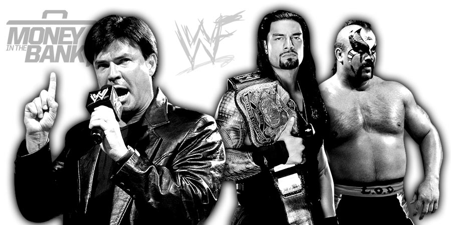 Eric Bischoff, Roman Reigns, Road Warrior Animal