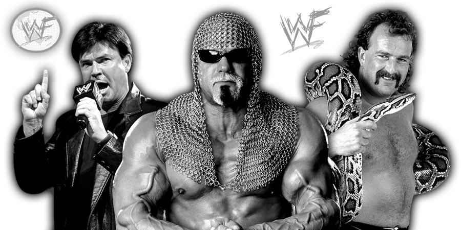 Eric Bischoff, Scott Steiner, Jake Roberts