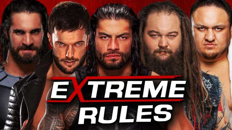 Extreme Rules 2017 Results - Roman Reigns vs. Seth Rollins vs. Finn Balor vs. Bray Wyatt vs. Samoa Joe