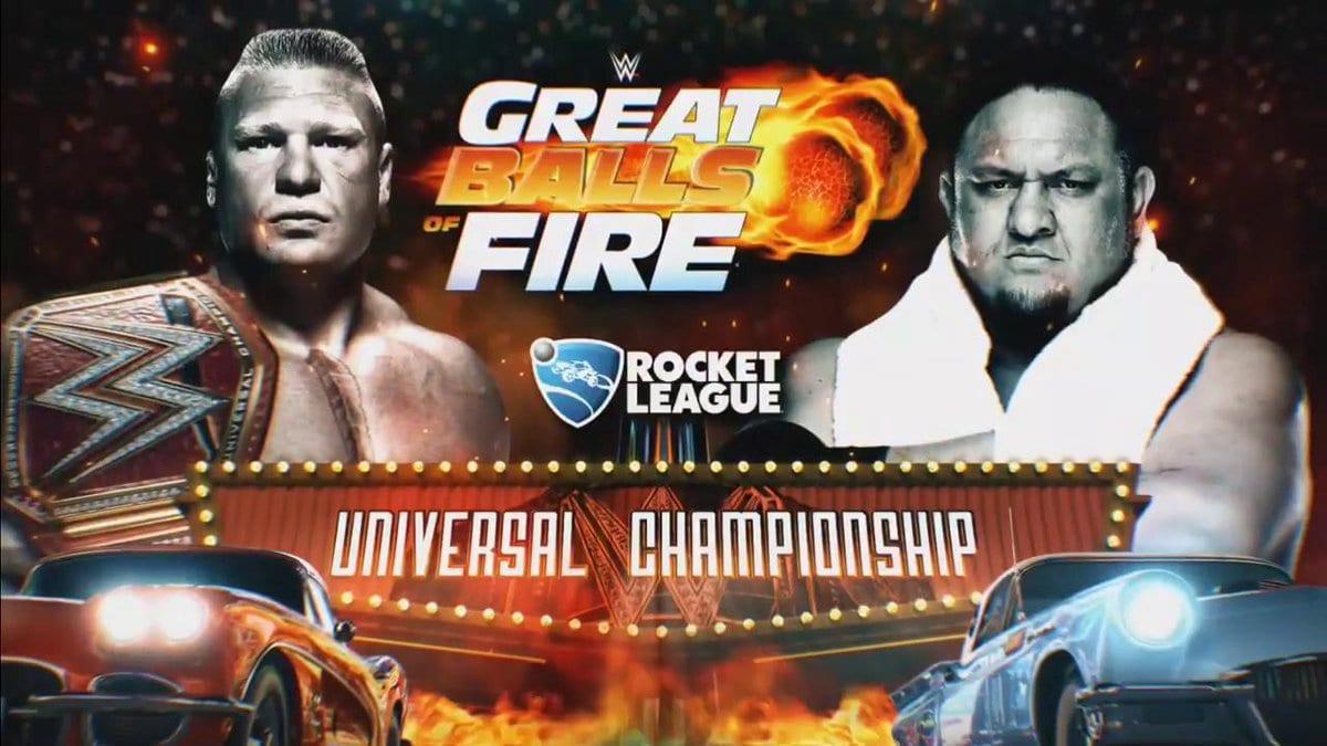 Great Balls of Fire 2017 - Brock Lesnar vs. Samoa Joe (WWE Universal Championship Match)