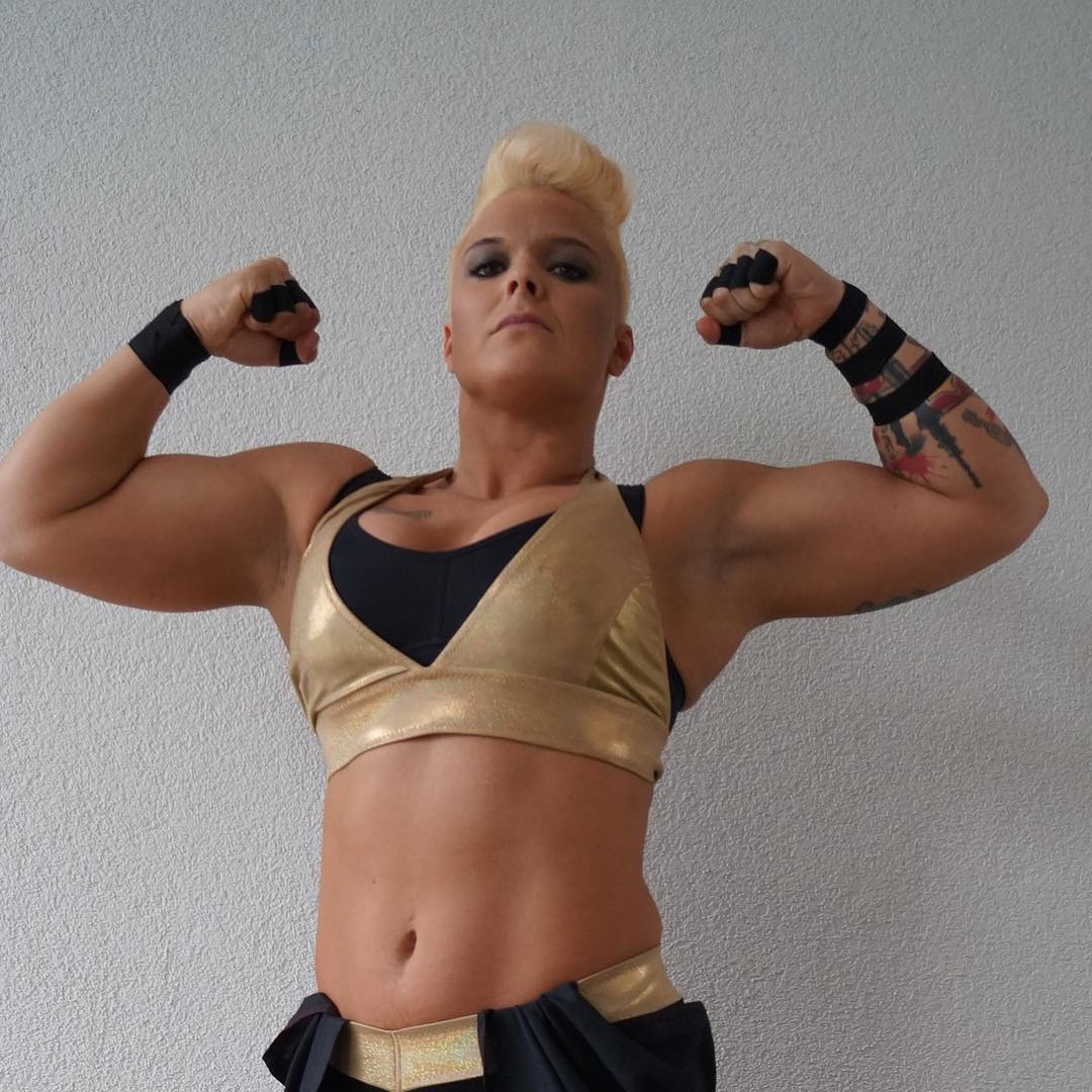 Jazzy Gabert - Alpha Female in WWE Mae Young Classic