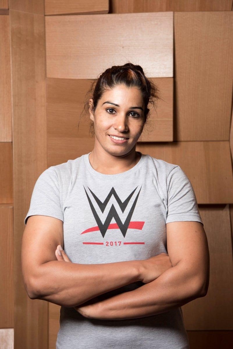 Kavita Devi in WWE