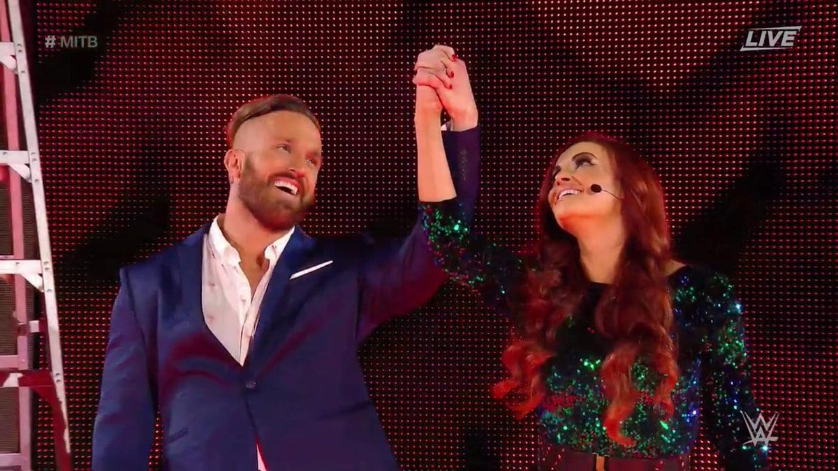 Maria Kanellis returns to WWE and Mike Bennett makes his WWE debut at Money in the Bank 2017 PPV