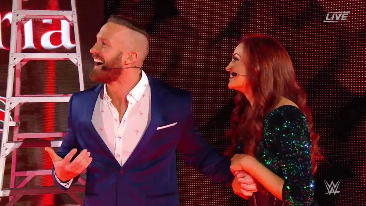 Mike & Maria Kanellis at Money in the Bank 2017 PPV