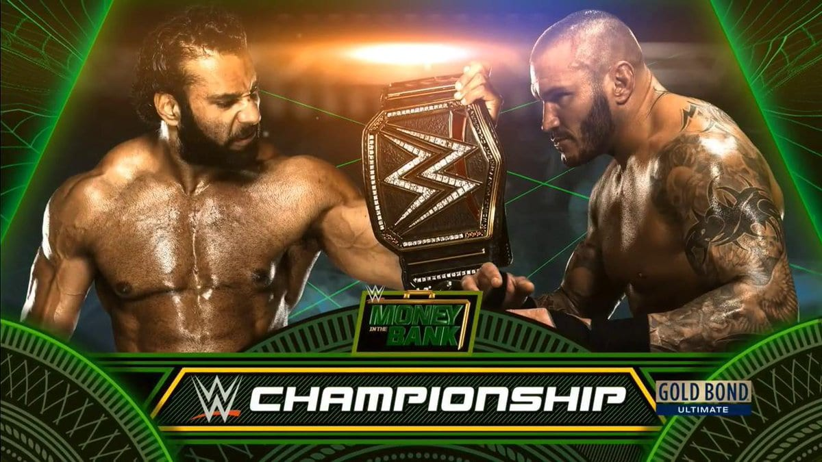 Money In The Bank 2017 - Jinder Mahal vs. Randy Orton for the WWE Championship