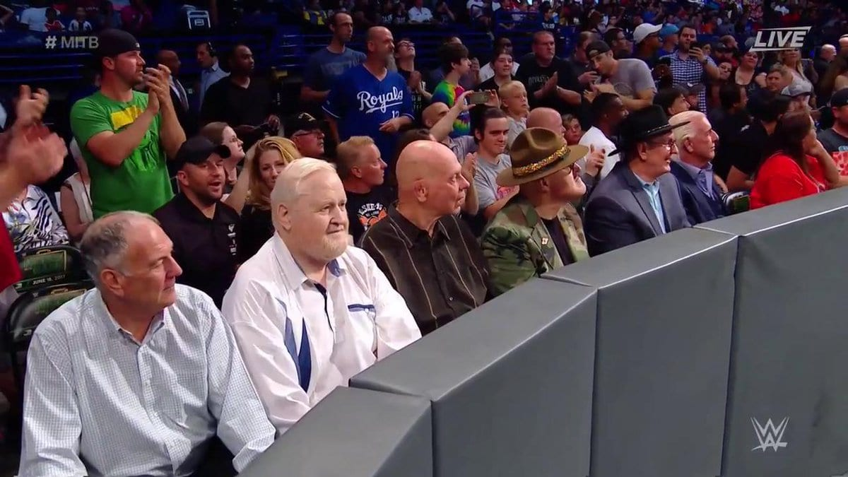 Old School Wrestling Legends Appear At Money In The Bank 2017 PPV