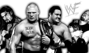 Roman Reigns, Brock Lesnar vs. Samoa Joe, Justin Credible Gains Weight