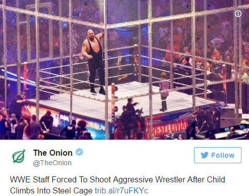Satirical Website The Onion Gets Huge Criticism After They Post A Fake Story Of WWE Killing The Big Show