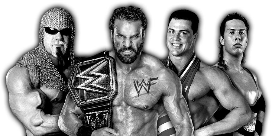 Scott Steiner, WWE Champion Jinder Mahal, Kurt Angle, X-Pac