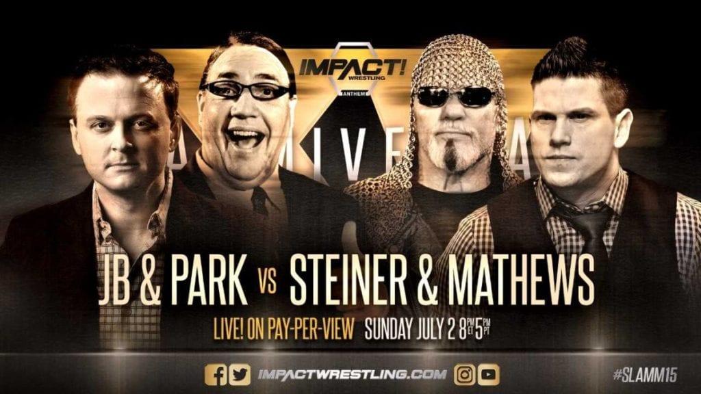 Scott Steiner wrestling at Slammiversary 2017