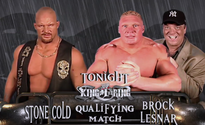 Stone Cold vs. Brock Lesnar - King of the Ring