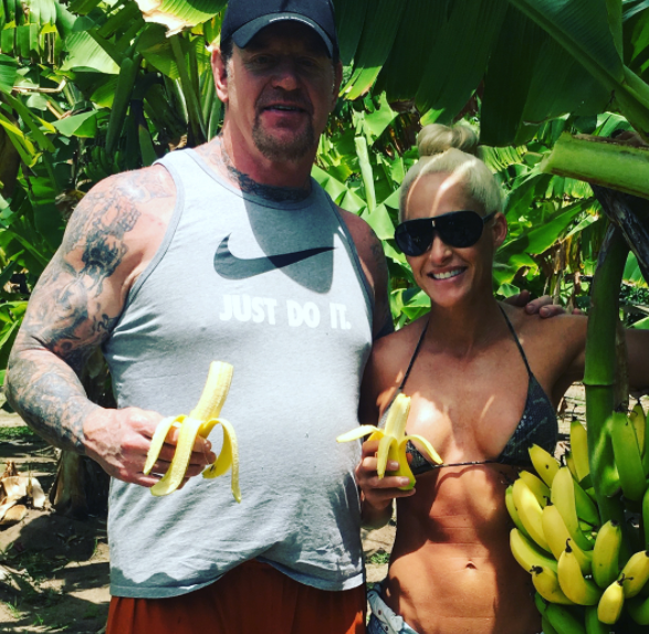 The Undertaker Celebrates His 7th Wedding Anniversary With Michelle McCool - 1