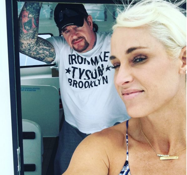 The Undertaker Celebrates His 7th Wedding Anniversary With Michelle McCool - 4