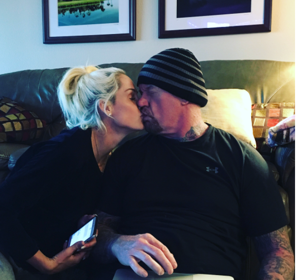 The Undertaker Celebrates His 7th Wedding Anniversary With Michelle McCool - 5